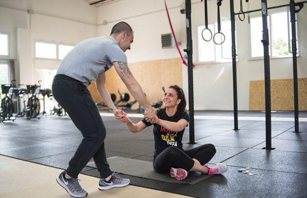 Sorrisi con Valentino Iacovitti Fightness allenamento ibrido