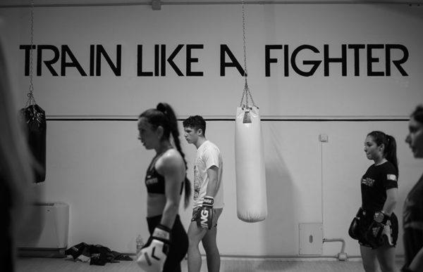 Allenamento in gruppo Fightness